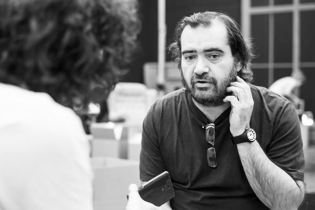 Alfredo Zamora, en una entrevista.