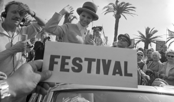 Sophia Loren, Carlo Ponti - Festival de Cannes 1964